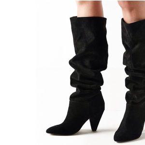 UO Knee High Suede Boot